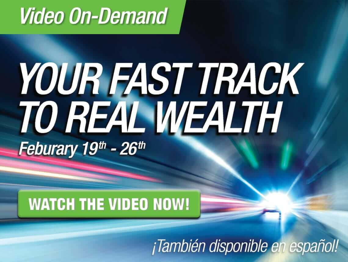 Learn about YOUR fast track to wealth with friends of The Rich Dad Company, The Real Estate Guys™