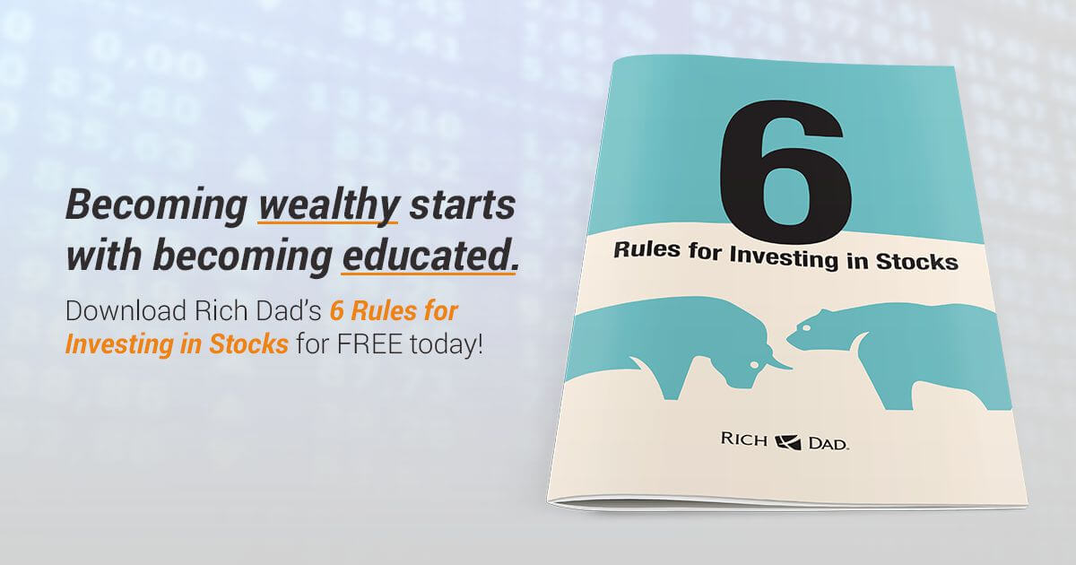 Download Rich Dad's 6 Rules for Investing in Stocks