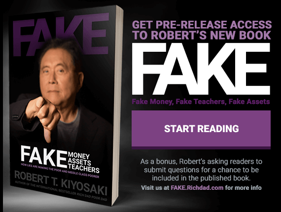 Promotion of Robert's book FAKE