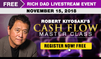 register for the the rich dad wealth machine livestream event free