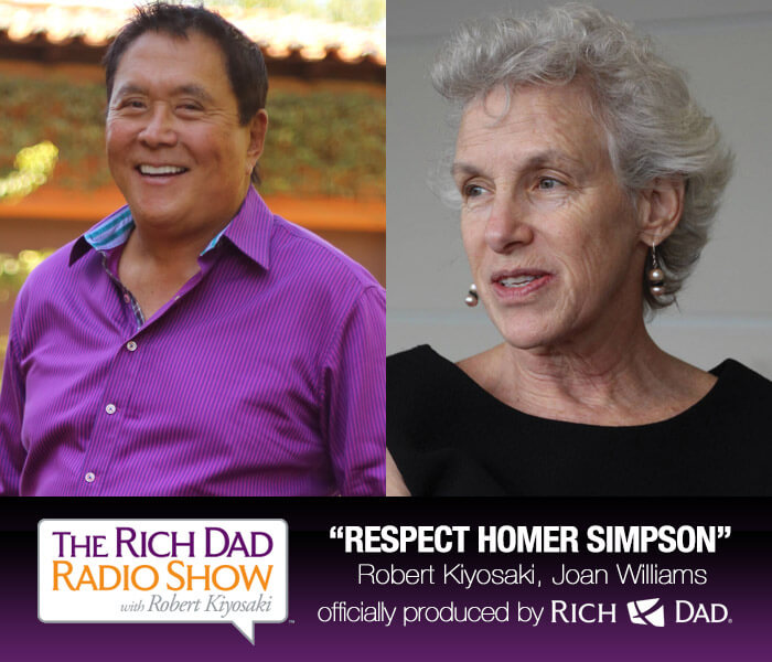 Respect Homer Simpson by Robert Kiyosaki & Joan Williams
