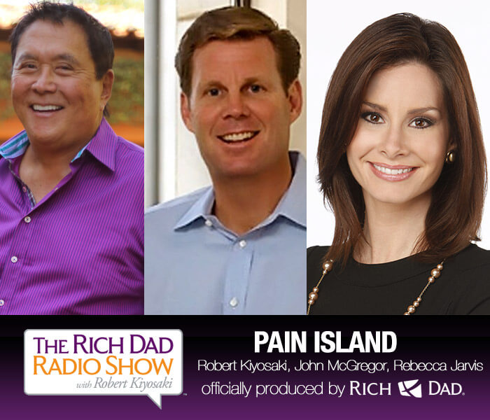 Pain Island by Robert Kiyosaki, John McGregor & Rebecca Jarvis