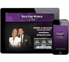 Rich Dad World Live App