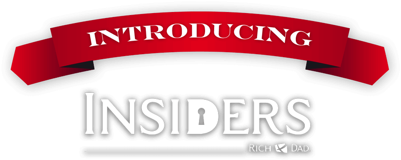 introducing the rich dad insiders logo