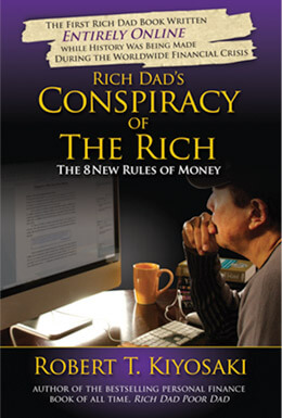 Rich Dads Conspiracy of The Rich book cover image