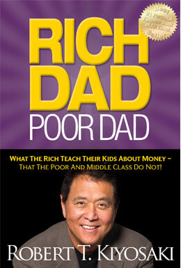 Rich Dad Poor Dad book cover image