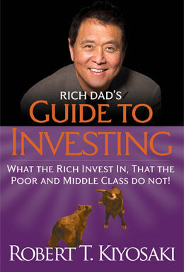 Rich Dads Guide to Investing book cover image