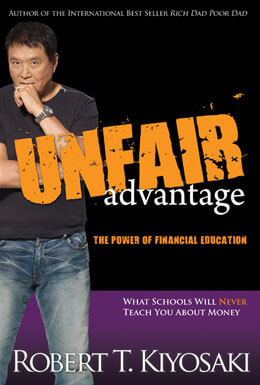 Unfair Advantage book cover image