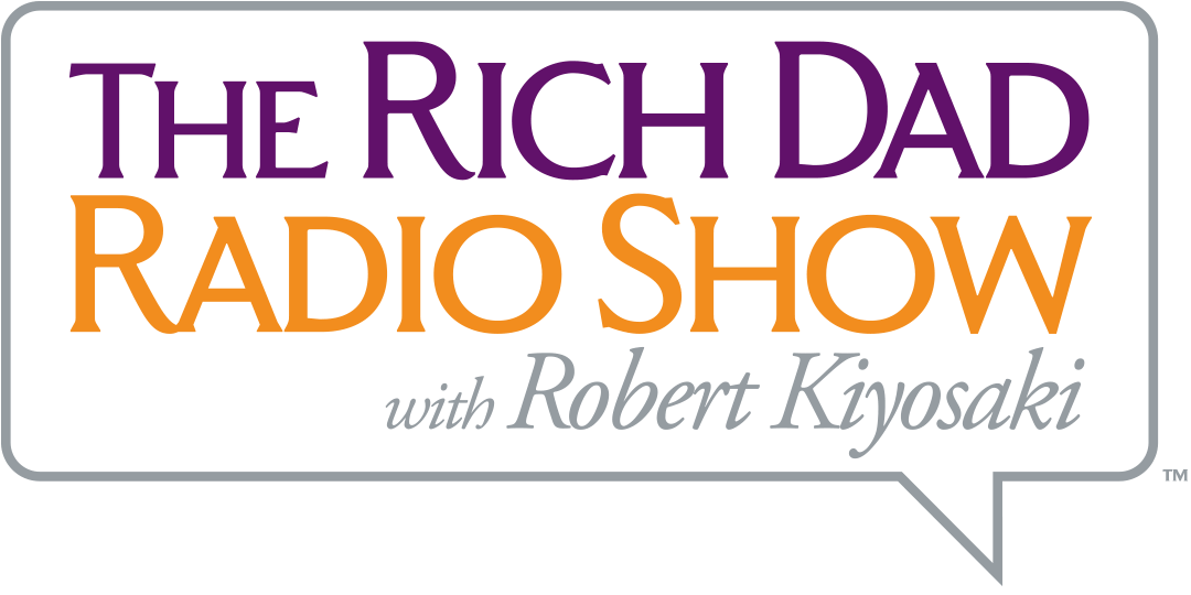 Rich Dad Radio Show with Robert Kiyosaki Logo