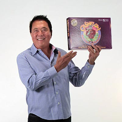 Robert Kiyosaki & his board game CASHFLOW®