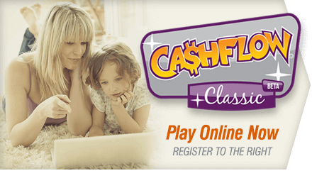 Register to play CASHFLOW online