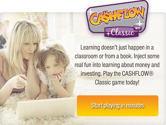 start playing cashflow classic in minutes