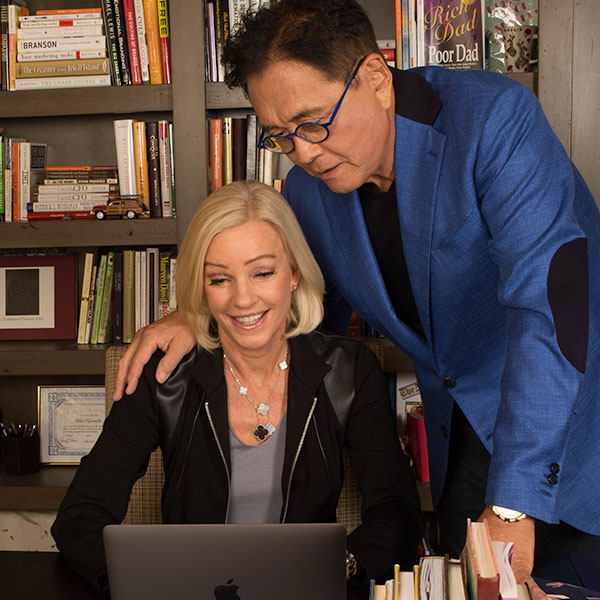 robert and kim kiyosaki coaching