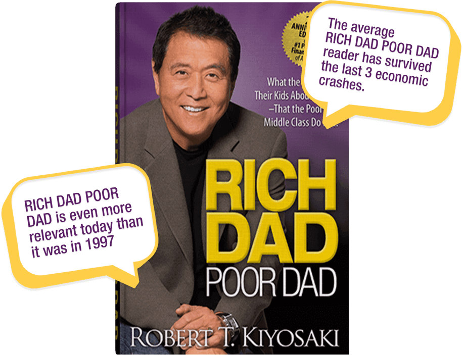Rich Dad Poor Dad 20th Anniversary with Call Outs