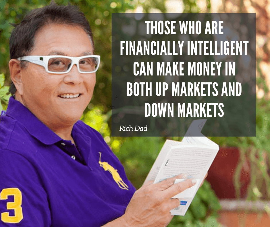 those who are financially intelligent make money in any market