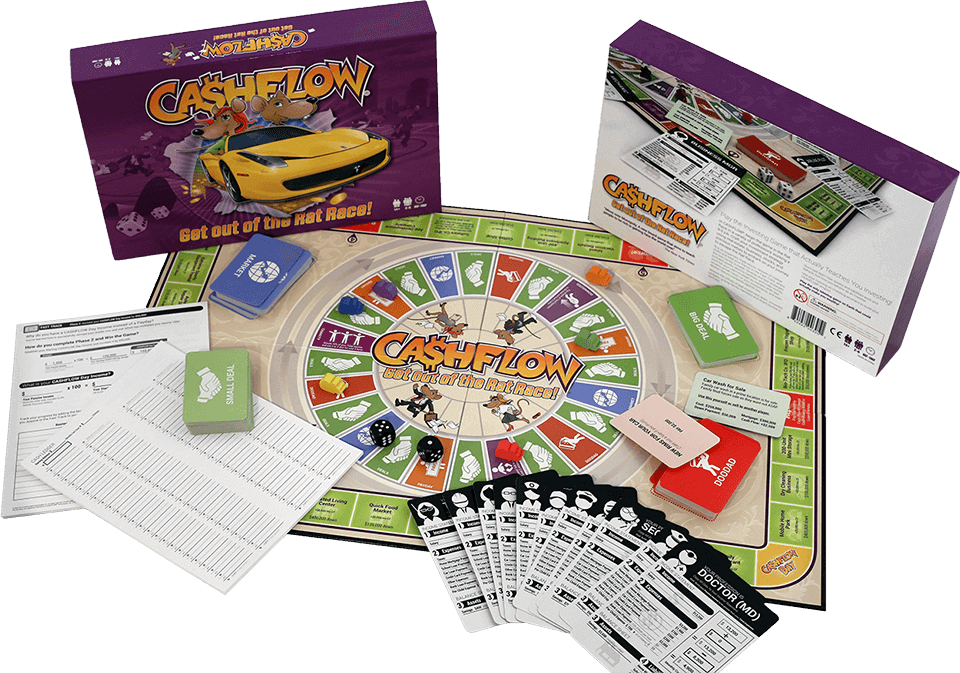 The all new CASHFLOW® board game!