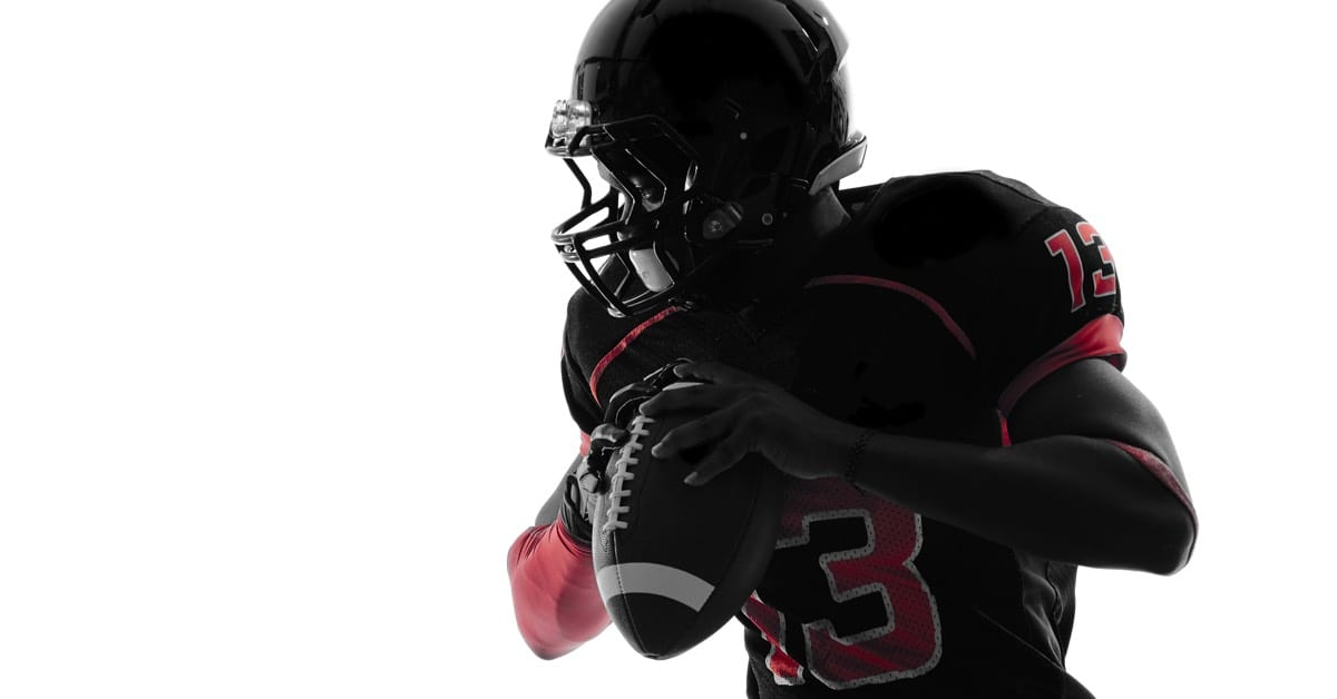 Be your own quarterback | picture of a quarterback looking to pass the ball