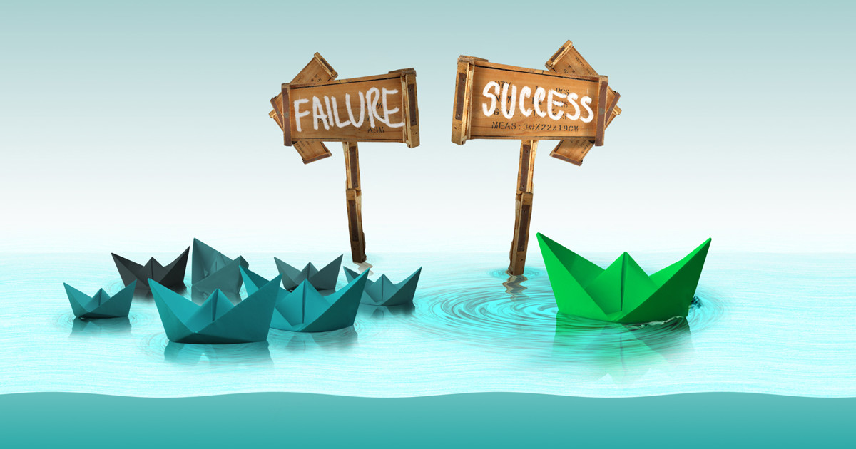 failure leading to success