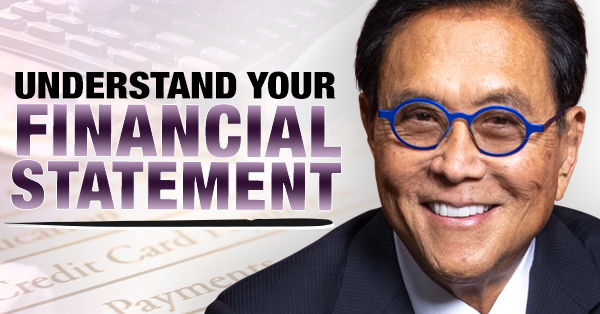 Robert Kiyosaki teaching the balance sheet and income statement