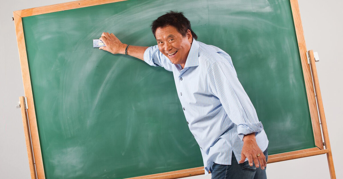 Five Things Every Teen Should Know About Money by Robert Kiyosaki