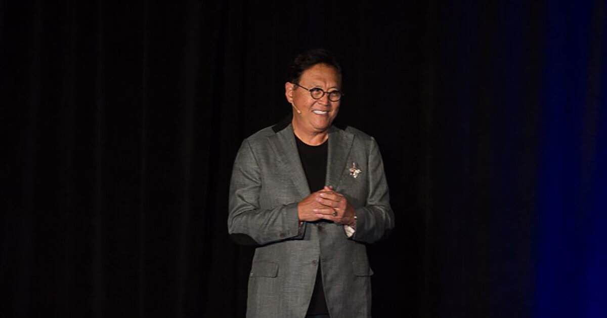 Robert Kiyosaki on staging teaching the rich dad philosophy