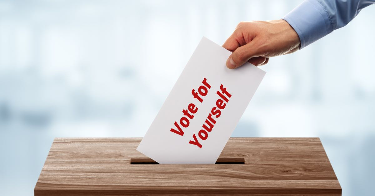 Vote For Yourself