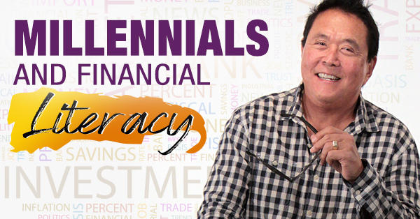 Robert Kiyosaki speaking on a TV show