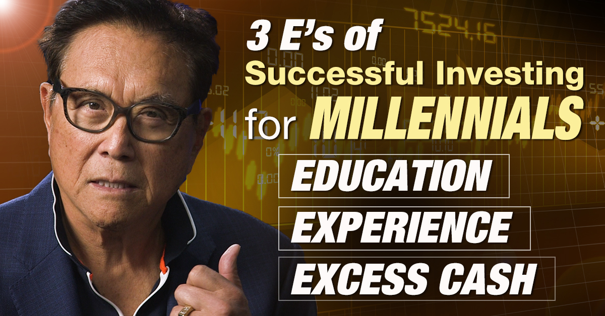 The 3 E's of Successful Investing for Millennials