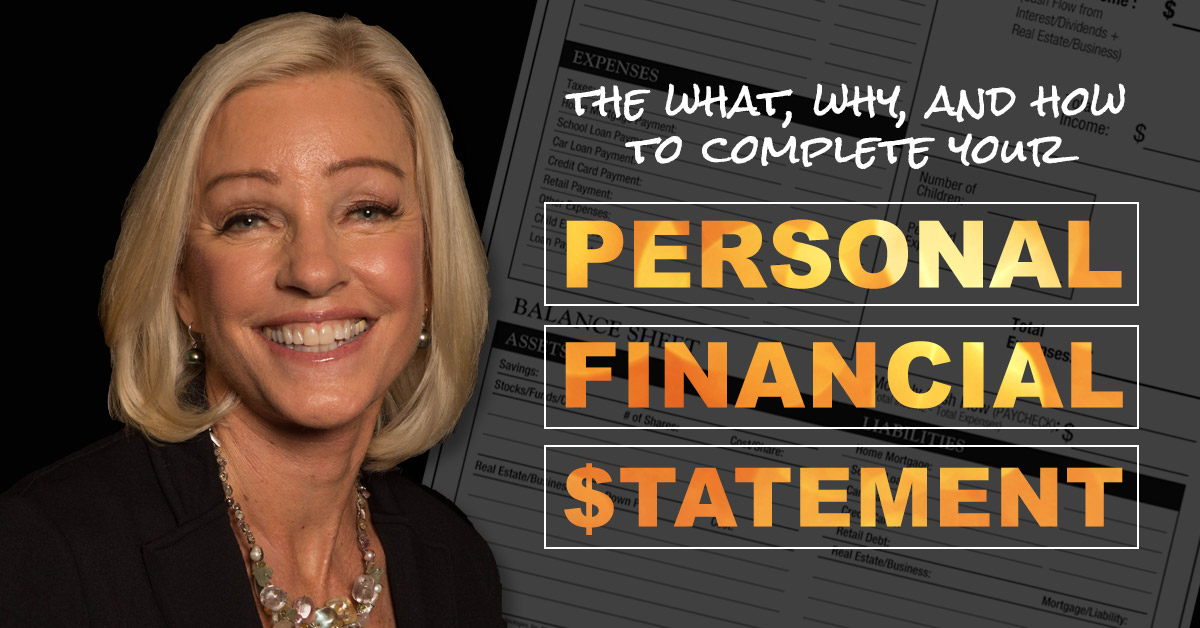 Managing Your Money Begins With a Personal Financial Statement
