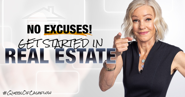 Robert and Kim Kiyosaki standing in doorway at home