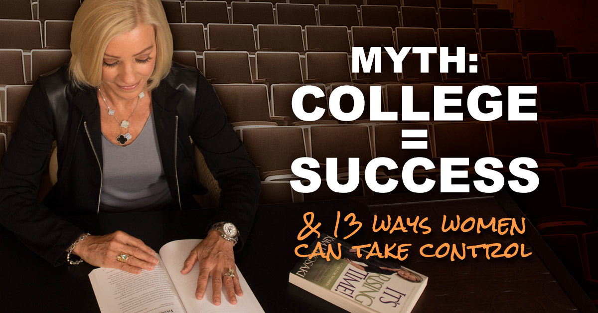 The Danger of College Education | Your wealth is equal to your level of knowledge