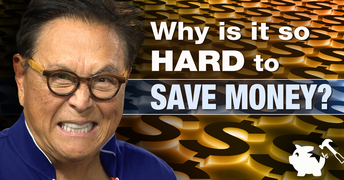 3 Reasons Why It's So Hard to Get Rich Saving Money