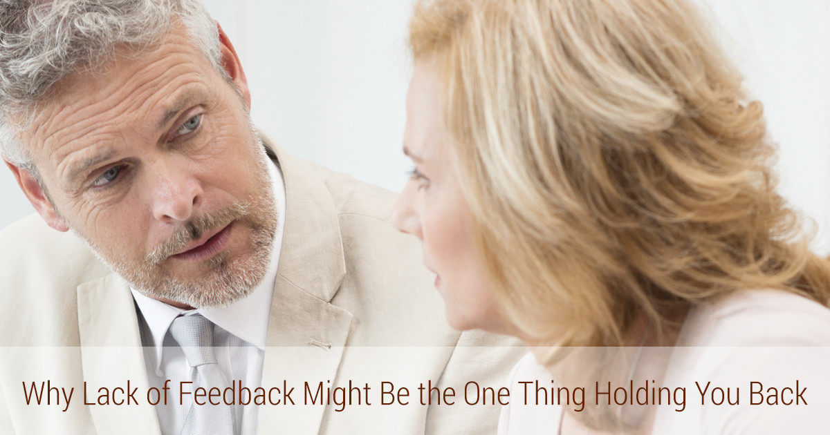 woman taking feedback for growth