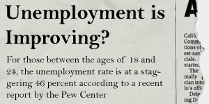 Employment Is Improving?  image