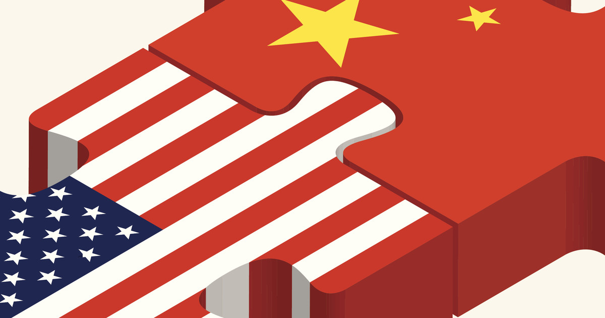 america and china puzzle pieces