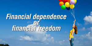 Trading Financial Dependence for Financial Freedom image