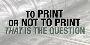 To QE or Not To QE That Is The Question image
