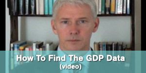 How To Find The GDP Data video image