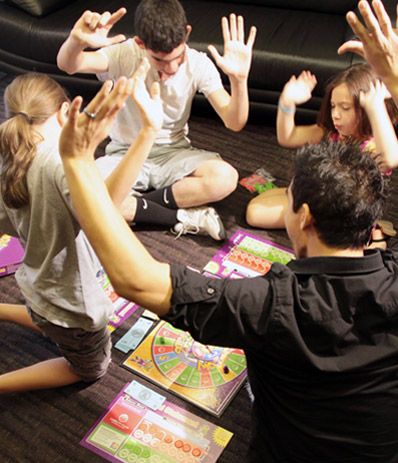 CASHFLOW for Kids being played
